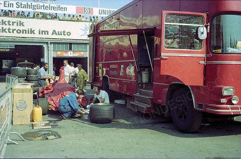 "016-Ferrari 3123-B Nurburgring F1 1974  18""x27"""