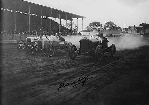 147-1913 racing signed Baisley