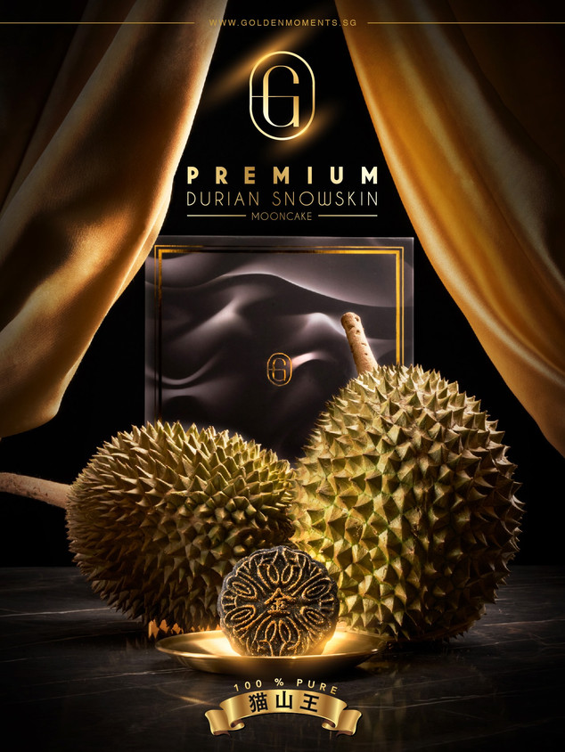 Golden Moments Durian Mooncake