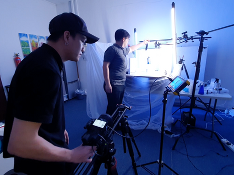 [TVC Production - Hite Extra Cold] Behind the Scenes of a Video Production at Tristeps Studios!
