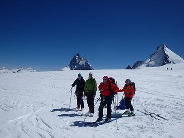 Raid à ski : la Haute Route Chamonix-Zermatt