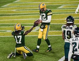 Davante Adams Aaron Rodgers Packers