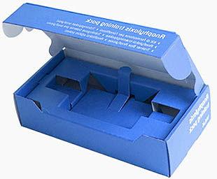 Z electronics-box-with-cardboard-die-cut