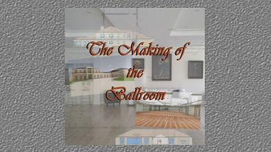 Timelapse of ballroom construction
