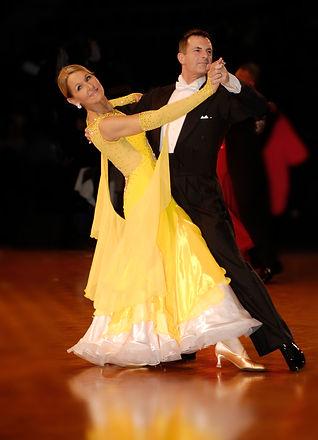 Gary and Stonnie dancing ballroom