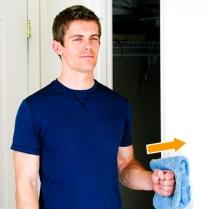 Shoulder Isometric for external rotation