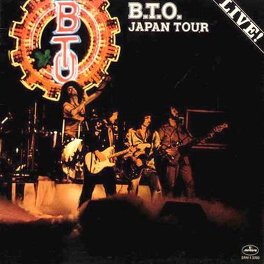 BTO Live in Japan 1977