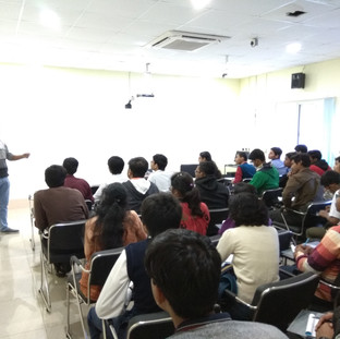 Lecture by Tapan Saha