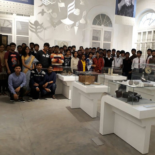 Museum visit during the outreach programme