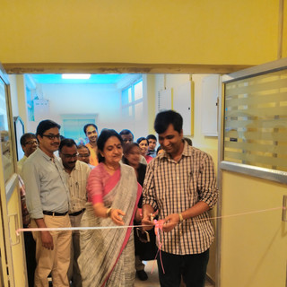 Inauguration of newly constructed department