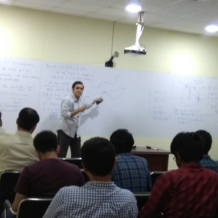 Lecture by Satadal Ganguly