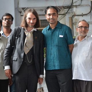Fields medallist Prof. Cédric Villani with our faculty