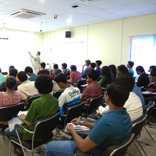 Lecture by Arnab Chakraborty
