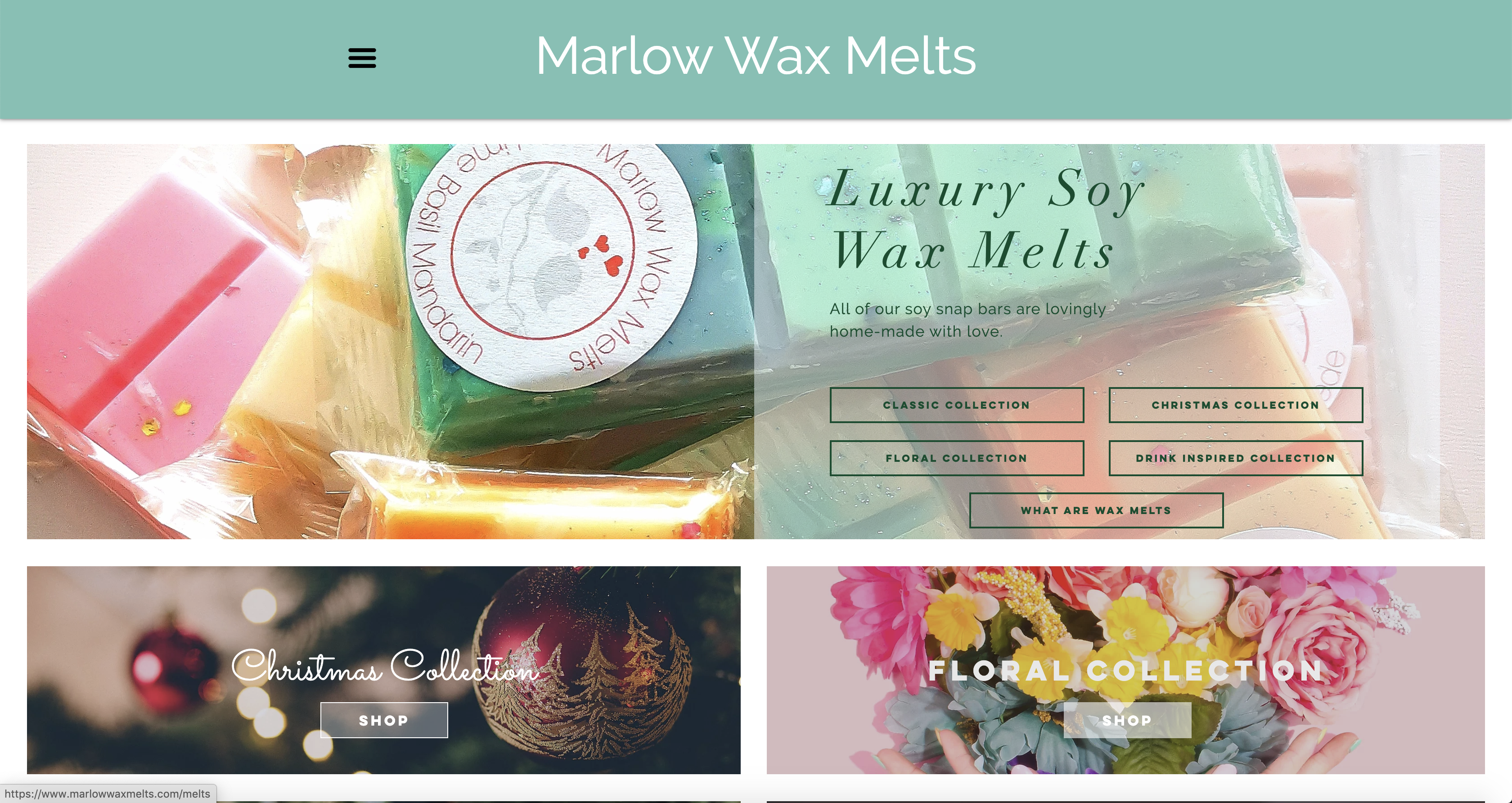 Marlow Wax Melts | Home Page