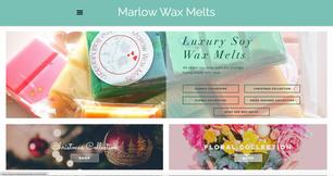 Bespoke Website - Marlow Wax Melts