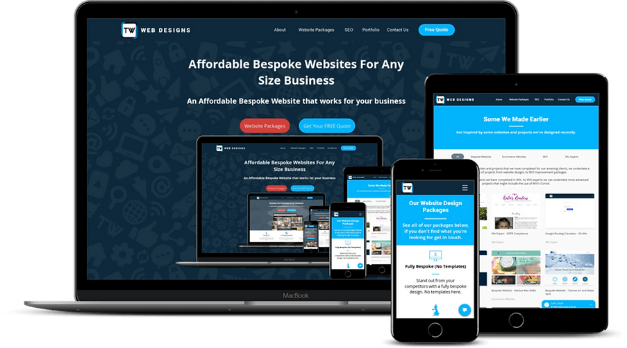 Responsive Website Design in High Wycombe, Buckinghamshire, UK