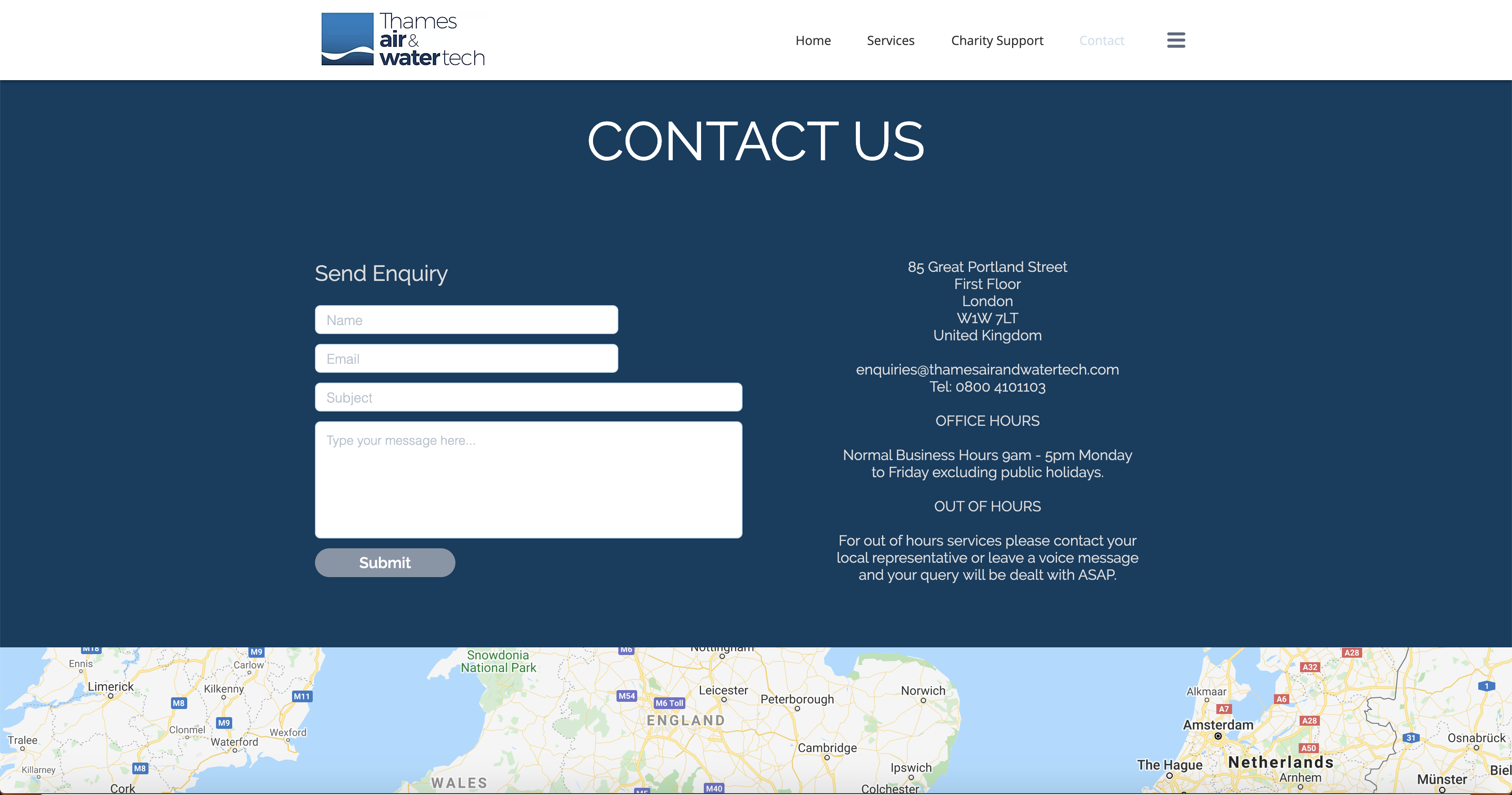 Thames Air and Water Tech | Contact Us