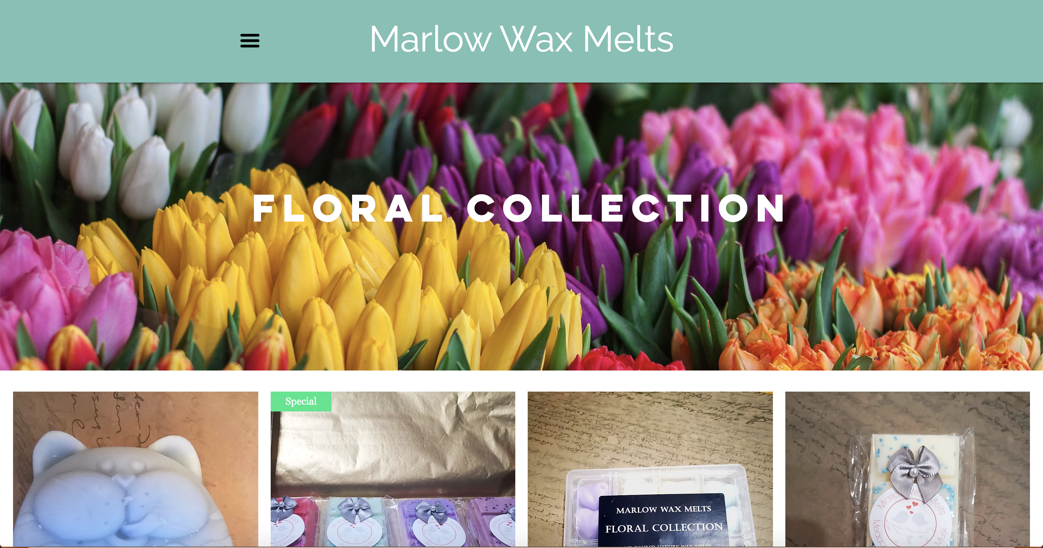 Marlow Wax Melts | Product page