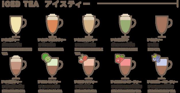 TAO BIN เต่าบิน Iced tea menu