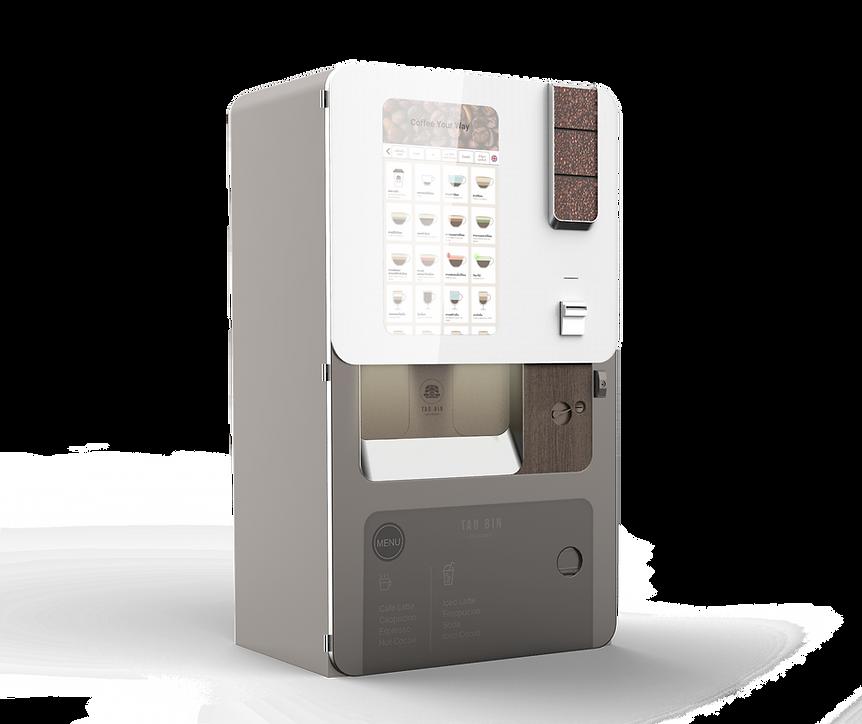 เครื่องกาแฟหยอดเหรียญเต่าบิน TAO BIN machine, ตู้กาแฟ, ตู้หยอดเหรียญ, ตู้เครื่องดื่ม