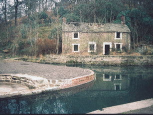 Derelict cottage Early 1980s.