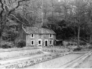 Derelict cottage 1980
