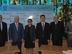 Preşedintele UNESCO Community din Paris, în vizită la CJ Dâmboviţa