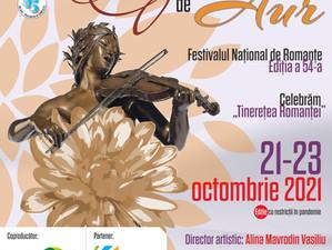"""Festivalul Național """"Crizantema de aur"""": Celebrăm Tinerețea Romanței"""