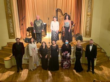 """Concertul """"Izvoare ale Romanței"""", desfășurat la Palatul """"Tinerimea Română"""" din București, succes răs"""