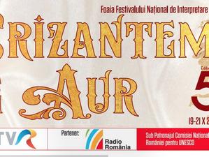 """Foaia Festivalului Național """"Crizantema de Aur"""" 2017"""