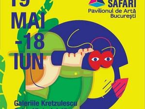 """Stand al Festivalului Național """"Crizantema de aur"""" la ART SAFARI 2017"""