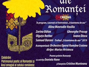 """Concertul extraordinar """"Comori ale Romanței"""" - la Filarmonica din Craiova"""