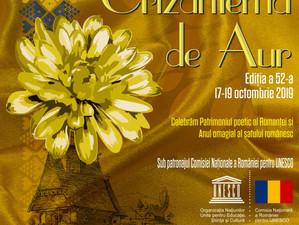 """Festivalul Național """"Crizantema de Aur"""", ediţia a 52-a, Târgoviște, 2019"""
