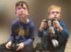 Blue Aspis for kids