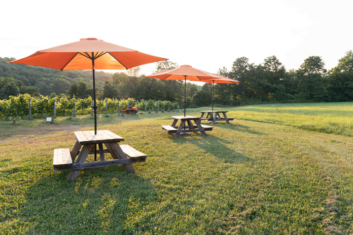 Open air tastings and events