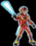 KAY Science Genius and Hero in Octrons Challenge