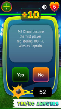 IPL T20 Cricket Quiz Game Timed Challeng