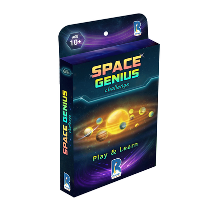 Space Genius Card Game Made in India by