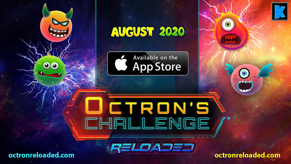 Octrons Challenge Reloaded mobile game l