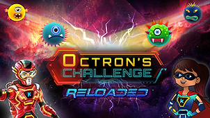 Octrons Challenge Reloaded. Mobile game