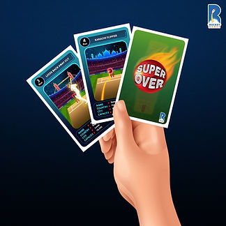 Super Over Cricket Card Game 1 by KuniaL