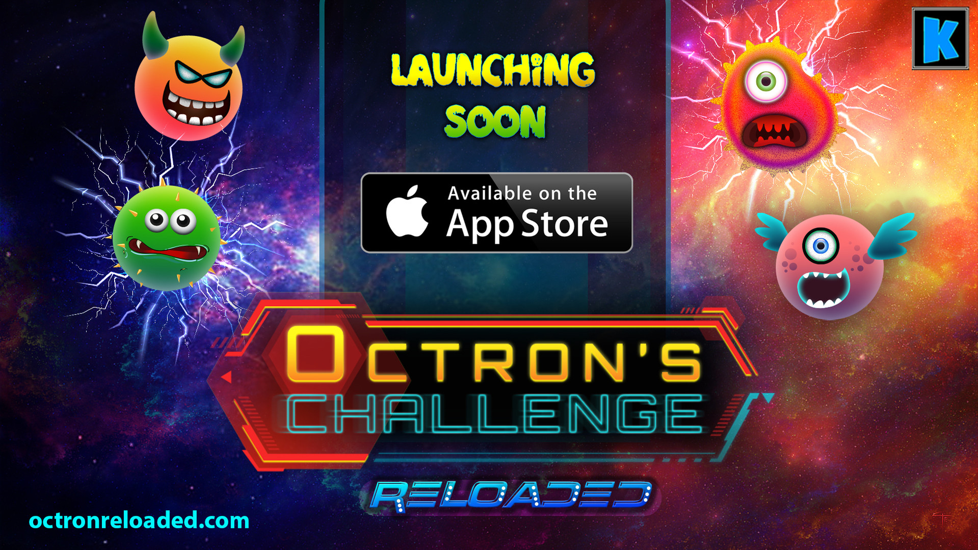 Octrons Challenge Reloaded Mobile Game by KuniaLabs