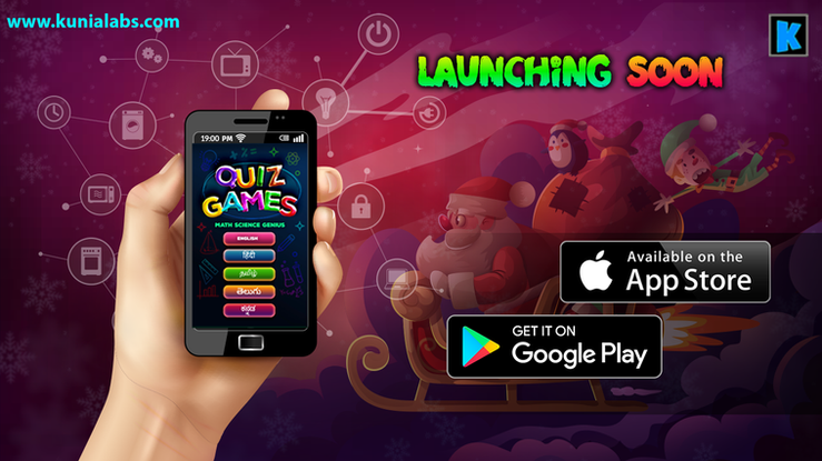 Math Science GK Quiz Game by KUNIA LABS