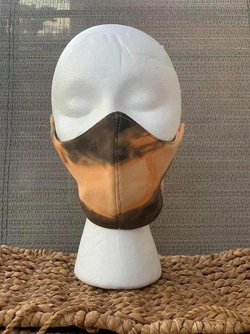 Brown Acid Face Mask