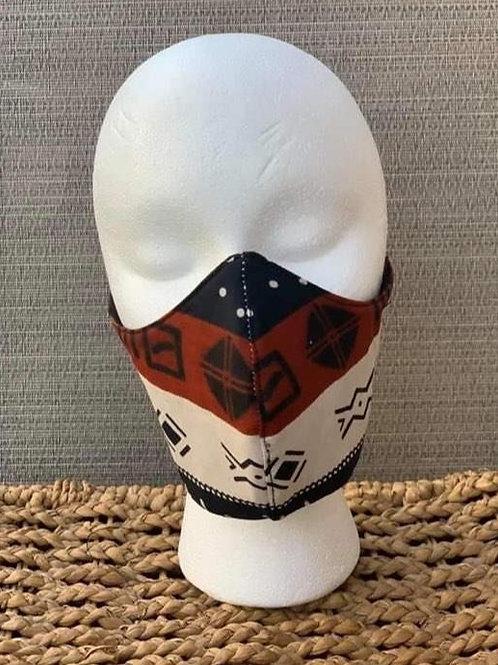 Aztec Pattern Face Mask