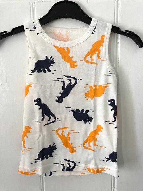 Dinosaur Print Cotton Vest