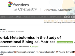 「Frontiers in Chemistry」のEditorialが公開/Editorial: Frontiers in Chemistry
