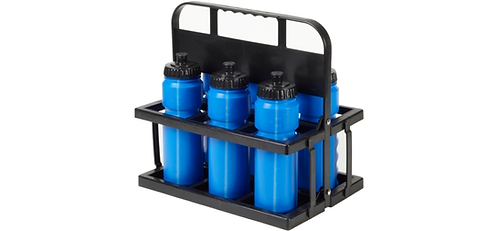 750ml Sports Bottle with Collapsible holder (Set of 6)