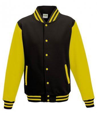 Kids Varsity Jacket + Back print