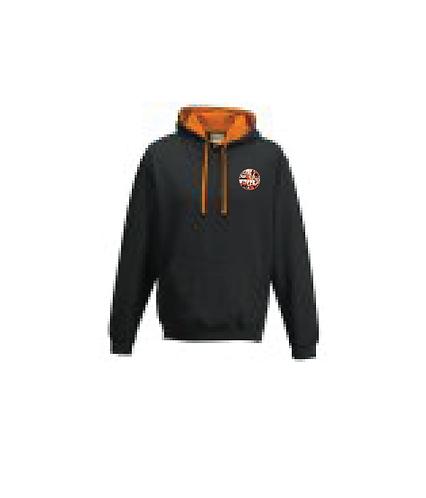 Hoodie Black/Orange
